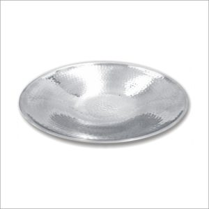 Stainless Steel Double Wall Rice hammered fruit tray