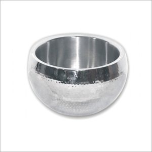 Stainless Steel Double Wall Hammered Verona Bowl