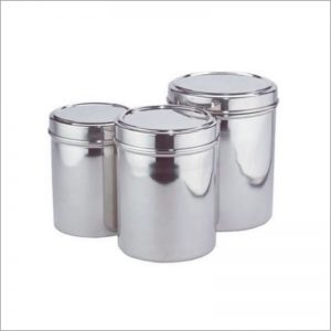 Canister Set W/See Thru Lid 3pc