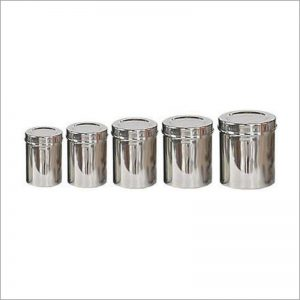 Jumbo Storage Canister Set 10pc