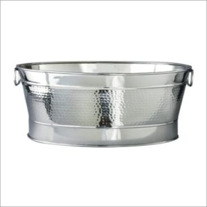 Oval Bolt Hammered Party Tub