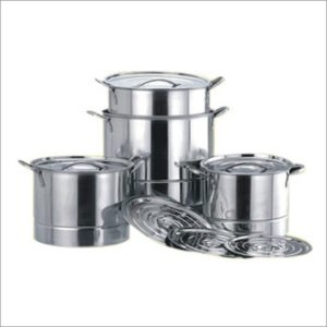 16pc Stainless Steel Steamer Stockpot Set