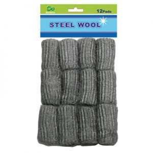 12pc Steel Wool Pad