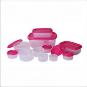 14pc Rect. Storage Set (7pc W/Lid)