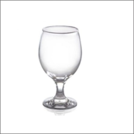 Bistro High Quality  Goblet Wine Glass, 370 ml